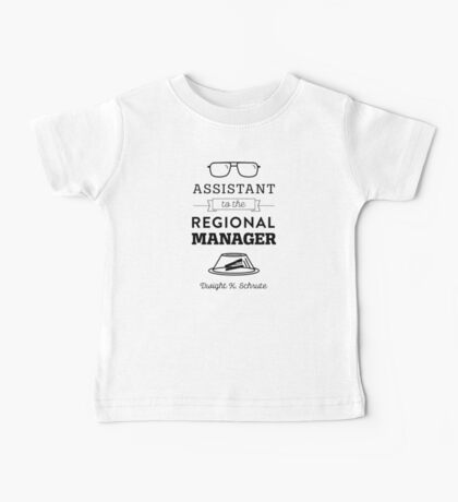 The Office Dunder Mifflin - Assistant to the Regional Manager Baby Tee