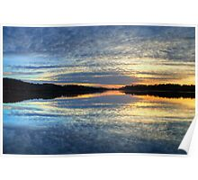 Twilight - Narrabeen Lakes, Sydney - The HDR Experience Poster