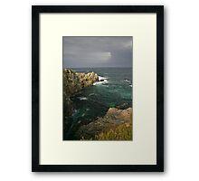 central coast point lobos Framed Print