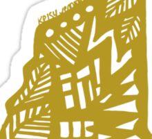 LeafyNewHampshiree Sticker