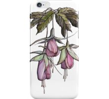 branches pink and purple fuchsia. iPhone Case/Skin