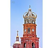 Town Church Photographic Print