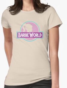 Barbie World Womens Fitted T-Shirt
