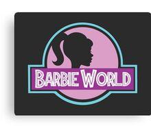 Barbie World Canvas Print
