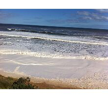 Foamy Logans beach II Photographic Print