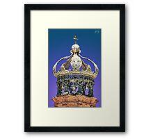 Church Tower Crown #1 Framed Print