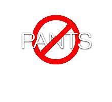 No pants Photographic Print