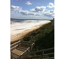 Foamy Logans beach IIIII Photographic Print