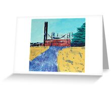 Patea Freezing Works: Bare Bones IX Greeting Card
