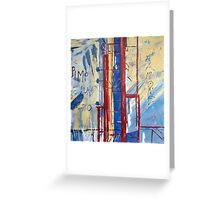 Patea Freezing Works: Framework Greeting Card