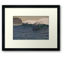 High Seas Framed Print