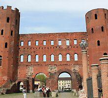 Porta Palatina, Turin by Indrani Ghose