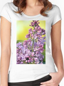 Oh the Aroma of Lilacs Women's Fitted Scoop T-Shirt