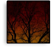 The Haunted Old Tree Canvas Print
