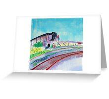 Patea Freezing Works: Railway VII Greeting Card