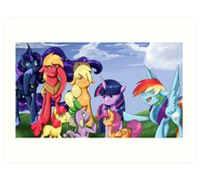 Filly Bits Art Print