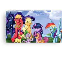 Filly Bits Canvas Print
