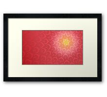 Hobb (Love) Framed Print