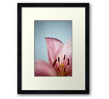 Shouting Out Framed Print