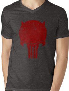 PUNISHURDOCK Mens V-Neck T-Shirt