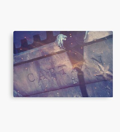Wattery Grave Canvas Print