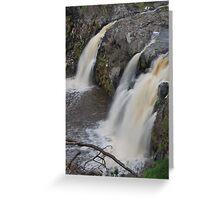 Turpin Falls Greeting Card