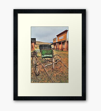 Once upon a time... Framed Print