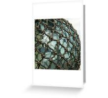 Blue ball - Seaman's Cottage, Hobart Greeting Card