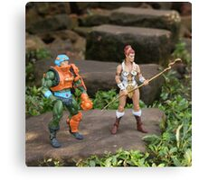 Masters of the Universe Classics - Teela & Man-At-Arms Canvas Print