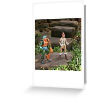 Masters of the Universe Classics - Teela & Man-At-Arms Greeting Card
