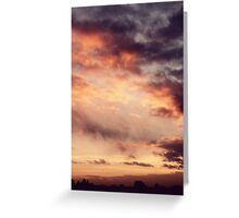 storm brewing Greeting Card