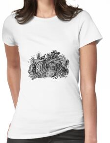 Vegetables Aussie Tangle Womens Fitted T-Shirt