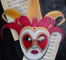 Composed Heart by Sharlene  Schmidt