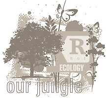 Tree Art Ecology by yougraphart
