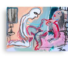 scene from a cheap motel #1 Canvas Print