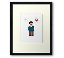 Bring Me Bacon And Eggs Framed Print