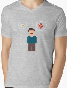 Bring Me Bacon And Eggs Mens V-Neck T-Shirt