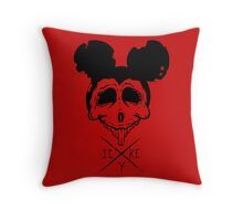 Dead Mouse Throw Pillow
