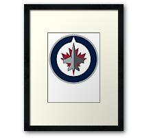 Winnipeg Jets Framed Print
