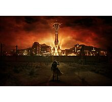 Welcome to New Vegas Photographic Print