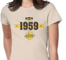 Born in 1959 (Choco&Yellow) Womens Fitted T-Shirt