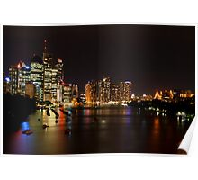 The City Of Brisbane Poster