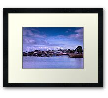 Galway Harbour - Galway, Ireland Framed Print