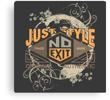 Just Style Authentic Ecology Canvas Print