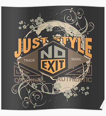 Just Style Authentic Ecology Poster