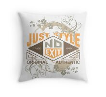 Just Style Authentic Ecology Throw Pillow