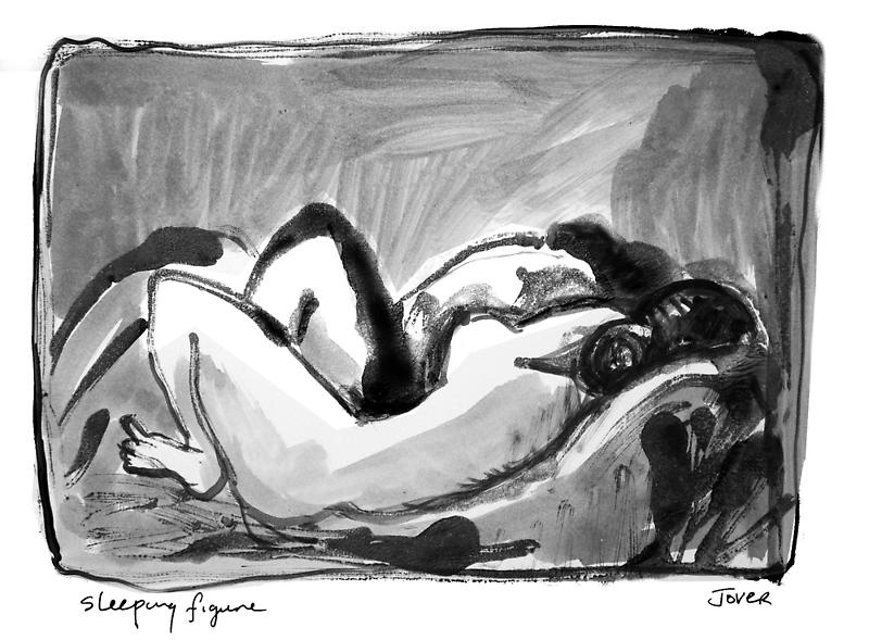 sleeping figure by Loui  Jover