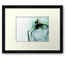 Thinking Good Thoughts Framed Print