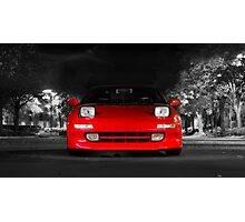 CarAndPhoto - Toyota MR2 Turbo Photographic Print