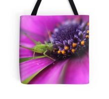 Little Spring Grasshopper Tote Bag
